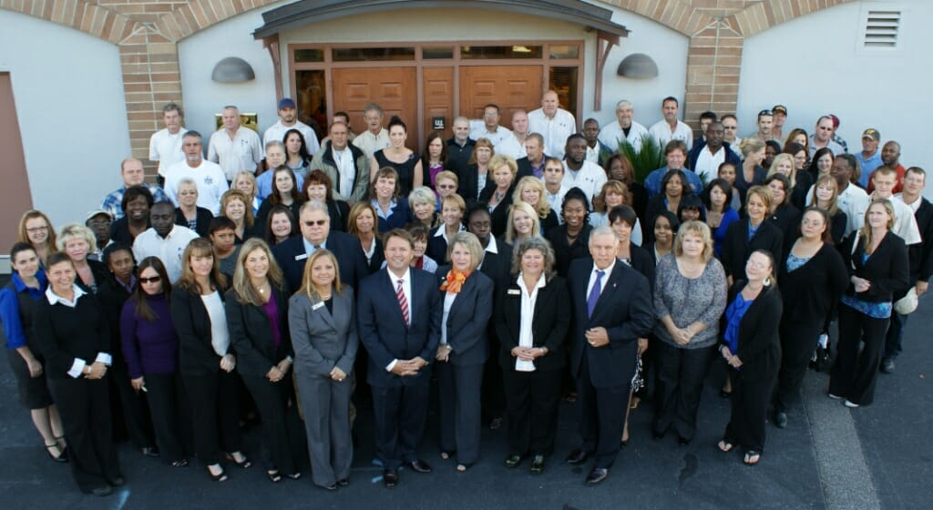 Photo of AMCS staff 2018